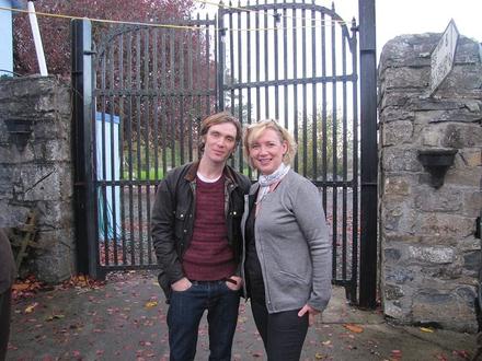 Cillian Murphy and Úna Weir