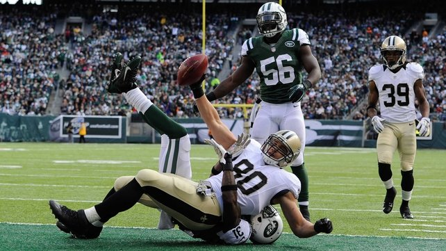 New Orleans suffered only their second loss as they slumped to a 26-20 defeat to the New York Jets