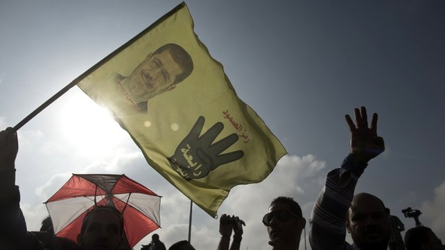 Hundreds of Mursi supporters have been killed in the crackdown