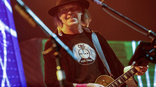 Cottoning on: Neil Young