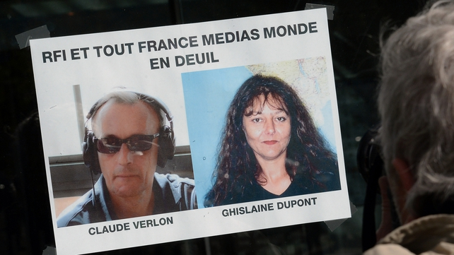 Claude Verlon and Ghislaine Dupont were killed by armed gunmen in northern Mali