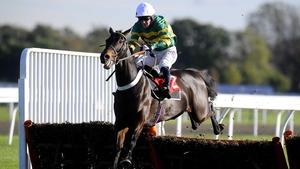 Tony McCoy riding Captain Cutter to win at Kempton