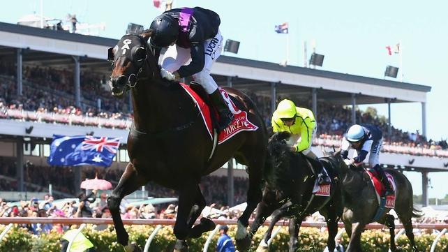 Fiorente sprints to Melbourne Cup success at Flemington Racecourse