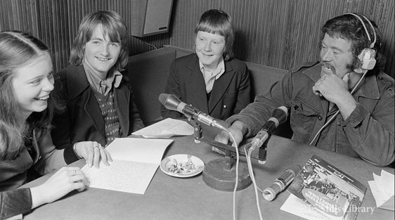 Dublin Liberties Radio (1975). But who are these three teenagers?