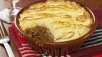 Roasted Garlic Cottage Pie - Kevin Dundon serves up this warming dish on the Today show.