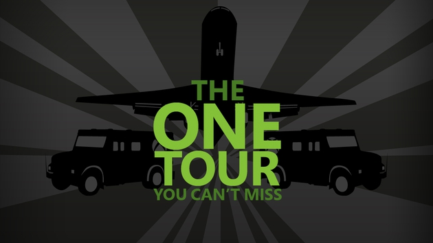 The Xbox Area One Tour is coming to Dublin on November 14, 2013