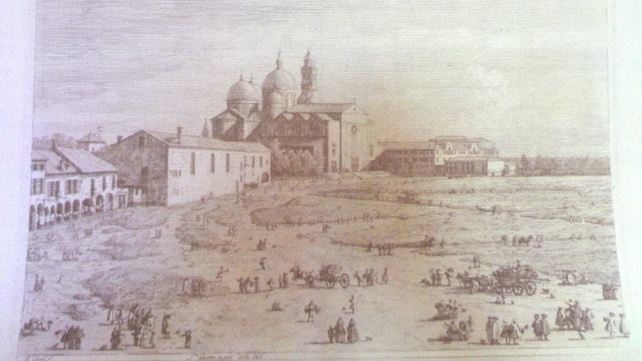 A painting by Italian painter Canaletto