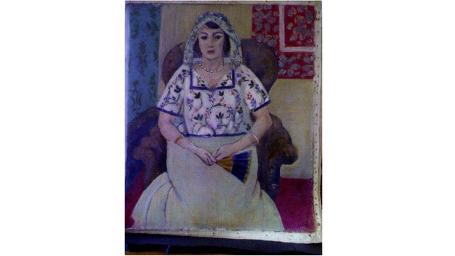 A reproduction of a painting by French painter Henri Matisse