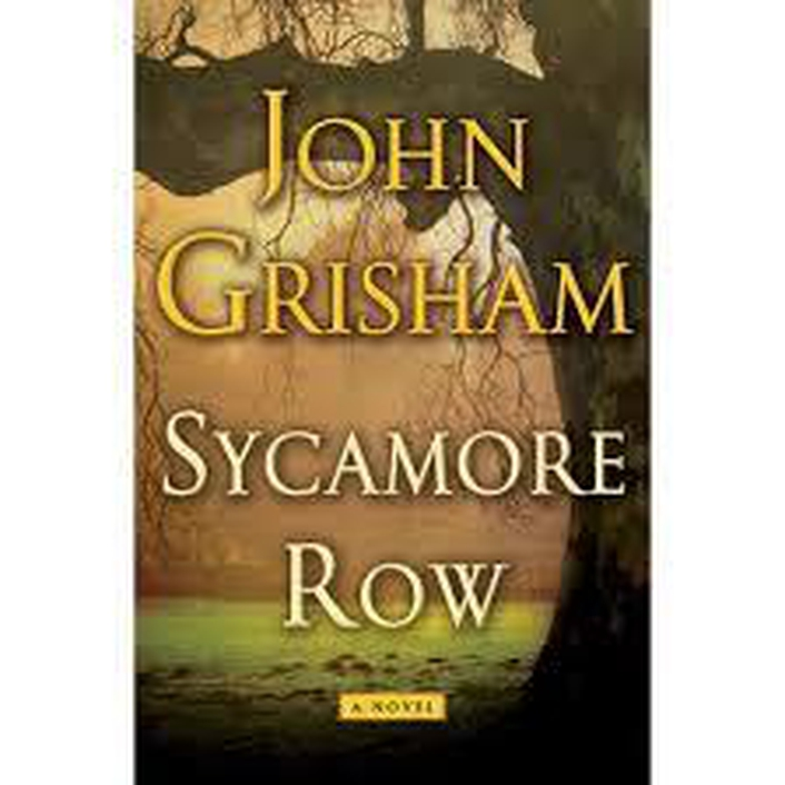 Book Review - John Grisham's Sycamore Row