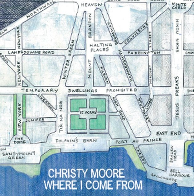 Christy Moore: a profound sense of connection with the subjects of his songs, but mischievous Irishry and craic too.