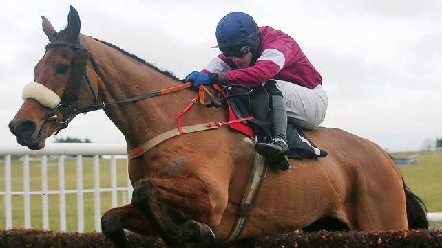 Quito de La Roque goes in the John Meagher Memorial Chase at 1.25pm