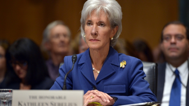 Kathleen Sebelius told the Senate committee that delay was not an option