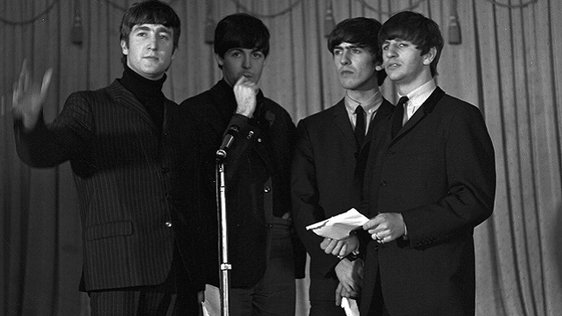 The Beatles at the Gresham Hotel Dublin in 1963
