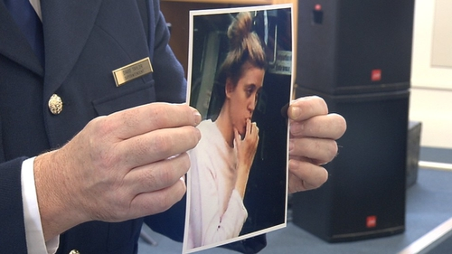 Photos were released yesterday to help identify the young woman