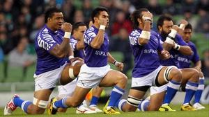Samoa perform the 'Manu' in 2010