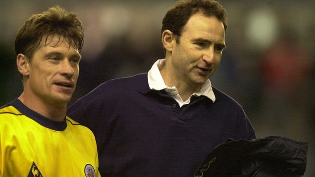 Tony Cottee (l): 'He is a very charismatic manager and a very passionate man'