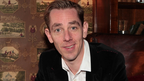 Ryan Tubridy - at last night's launch