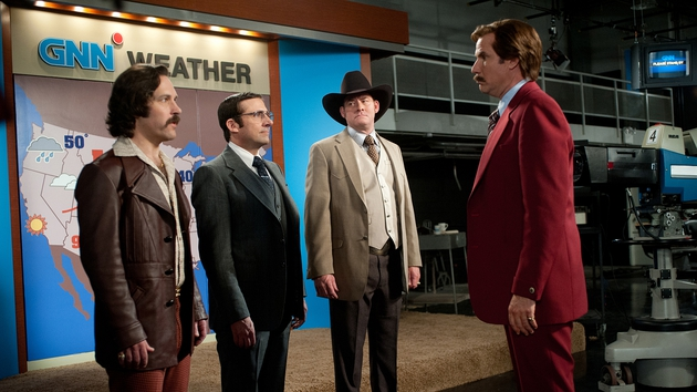 Anchorman 2: The Legend continues is due out at Christmas