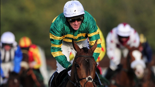 Tony McCoy's first win in the National Hunt sphere came on Riszard at Gowran Park in 1994