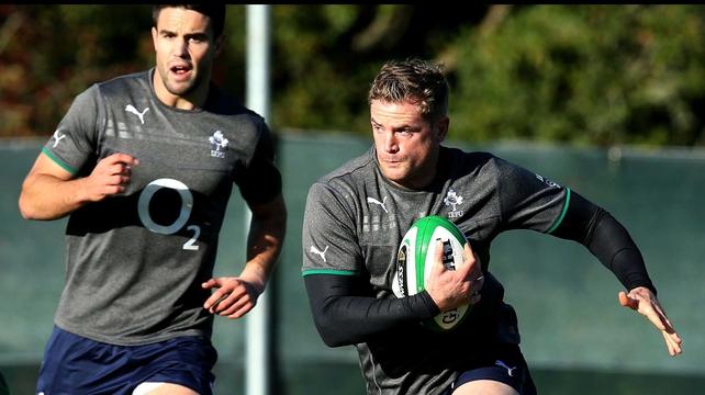 Jamie Heaslip is honoured to be named as the Ireland vice-captain