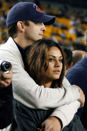 There could be wedding bells ringing around Ashton Kutcher and Mila Kunis very soon...