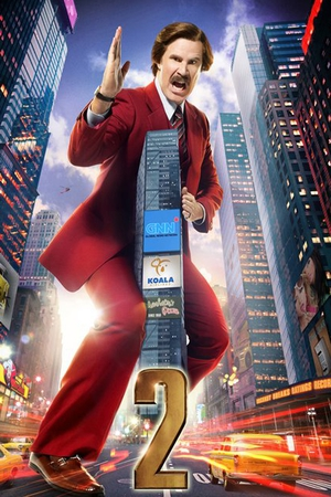 It has been announced that the stars of Anchorman 2 will attend a premiere of the film in Dublin on December 9