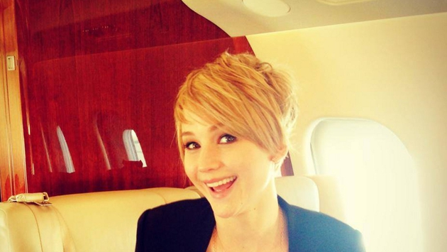 Jennifer Lawrence recently posted a snap of her new pixie hair cut on Facebook
