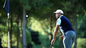 Tiger Woods struggled badly