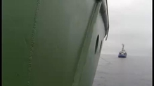 Video shows Russians boarding Greenpeace vessel
