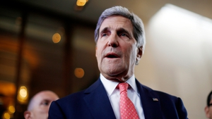 US Secretary of State John Kerry is joining the talks in Geneva