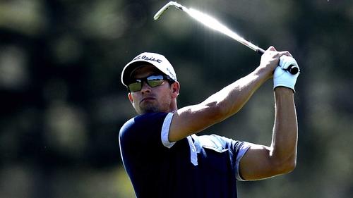 Adam Scott has seven-shot lead at halfway stage in Florida