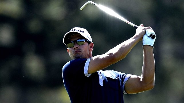 Adam Scott has seven-shot lead at halfway stage in Florida