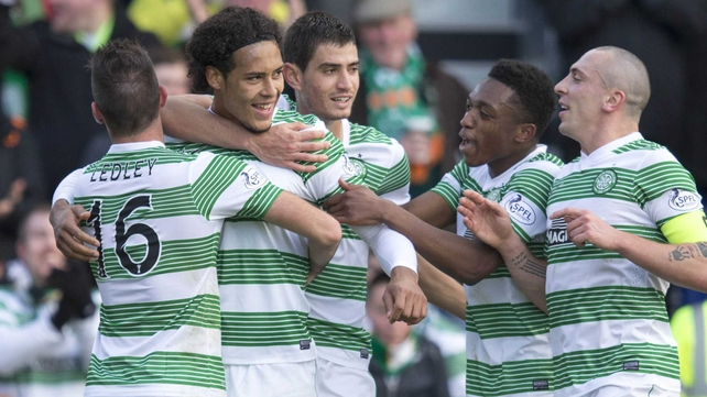 Virgil van Dijk grabbed the winner for Celtic at McDiarmid Park