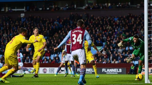 Aston Villa claimed a rare home victory