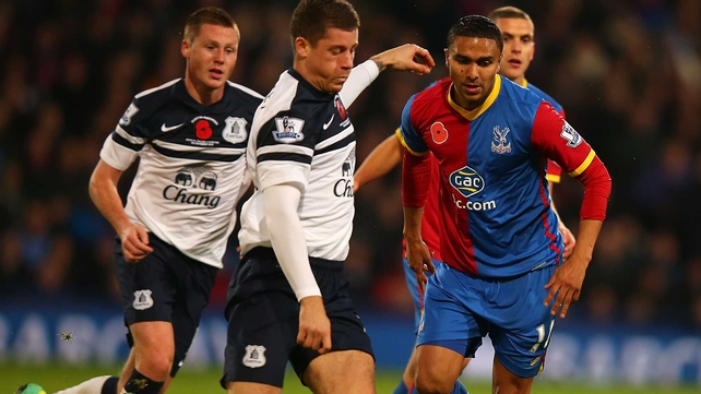Crystal Palace claimed just their fourth point of the campaign