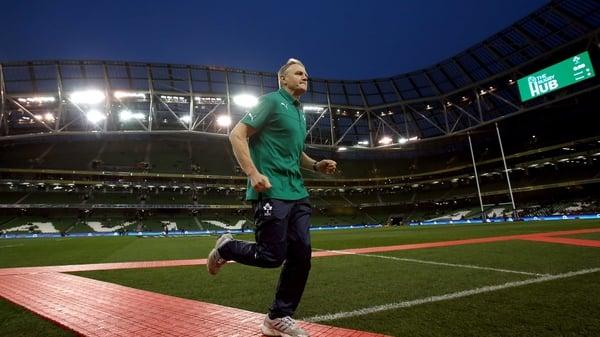 Up and running - Joe Schmidt has made a winning start to his tenure as Ireland boss