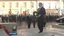 Taoiseach marks Rememberance Day in Fermanagh