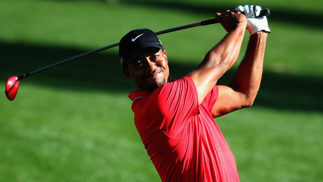 Tiger Woods is four Majors short of Jack Nicklaus' record haul of 18