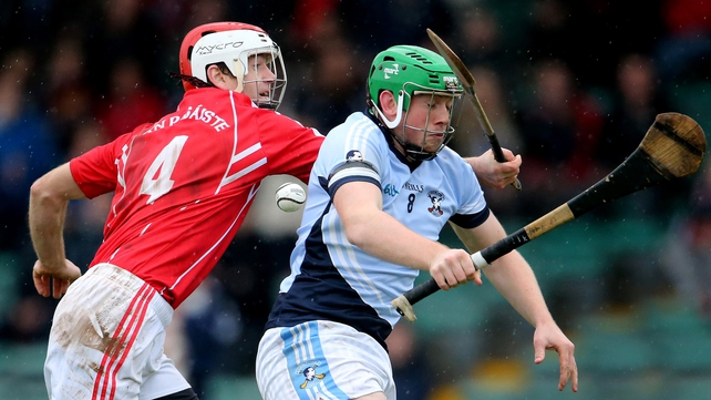 Na Piarsaigh's Shane Dowling (r) and Joseph Upton of Passage