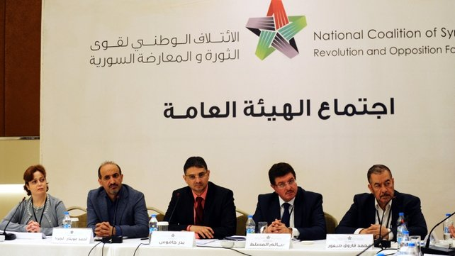 Syrian National Coalition have agreed to peace talks