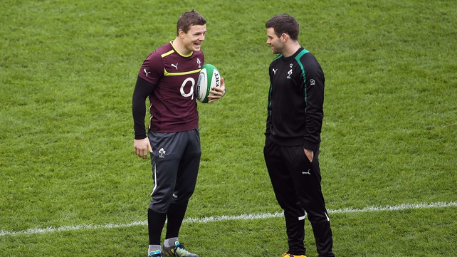 Brian O'Driscoll has been praised