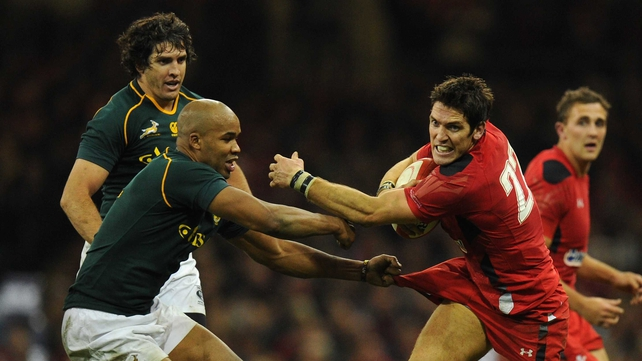 South Africa will return to the Millennium Stadium in 2014