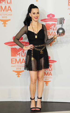 Perry Perry celebrated her first EMA gong