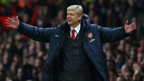 Arsene Wenger refused to make any excuses for his team's defeat at Old Trafford