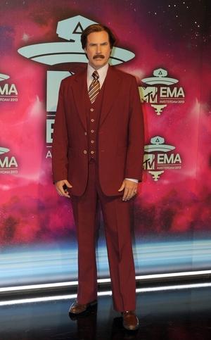Ron Burgundy aka Will Ferrell