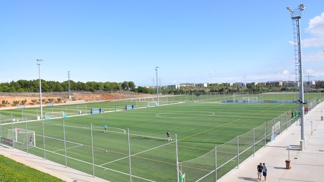 The facilities at Futbol Salou Sports Complex are state of the art