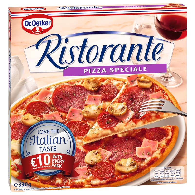Dr. Oetker rewarding customers with €10 off vouchers