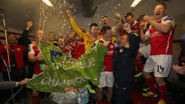 St Patrick's Athletic ended the year as champions