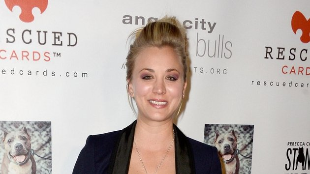 Kaley Cuoco denies pregnancy rumours