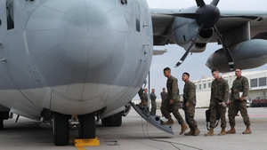 International troops are travelling to the region to assist with the relief operation